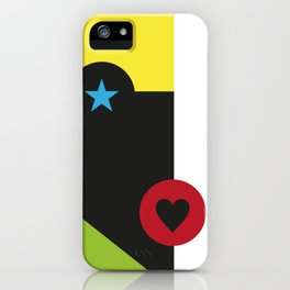 Stars&Heart iPhone Case
