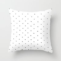 polka dot Throw Pillows featuring Polka Dot by Eric Latimer