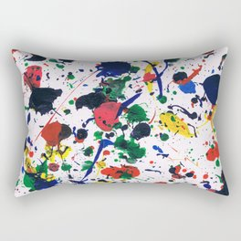 Messy masterpiece Rectangular Pillow