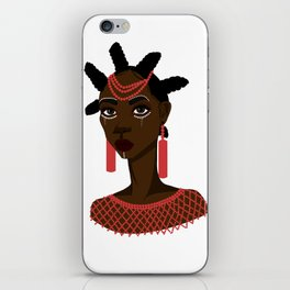 Nsukka woman iPhone Skin