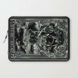 THE DEVIL of Tarot Cats Laptop Sleeve