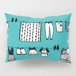 Laundry Doodle Pillow Sham