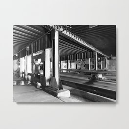 Untitled B/W #1 Metal Print
