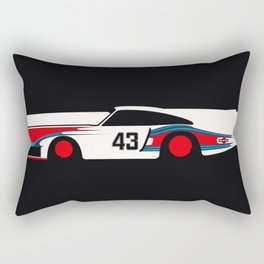 Moby Dick - Vintage Porsche 935/70 Le Mans Race Car Rectangular Pillow