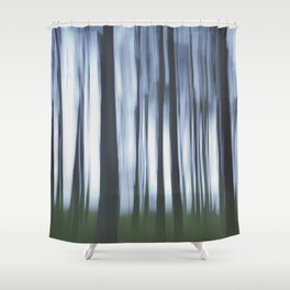 Mysterious Forest Shower Curtain