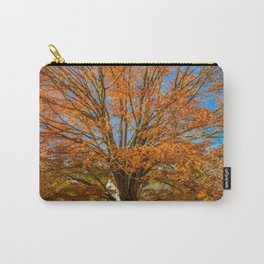 Blooming Fall Carry-All Pouch