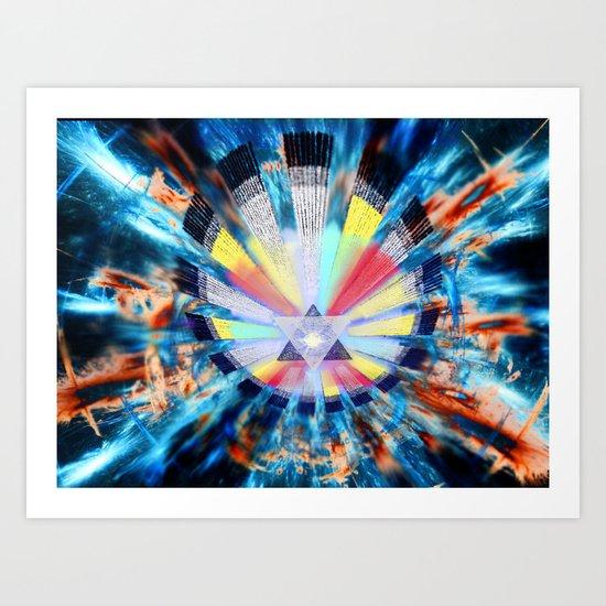 Cosmic NewLight Art Print