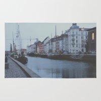 copenhagen Area & Throw Rugs featuring Copenhagen by Gabriri