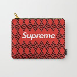 Givenchy x Supreme black Carry-All Pouch
