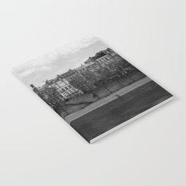 Seine riverbank, Paris. Notebook