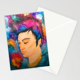 Galaxy Boy Stationery Cards
