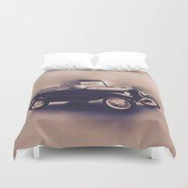 Antique Anderson-Vintage Classic Car Duvet Cover
