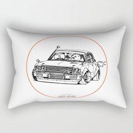 Crazy Car Art 0224 Rectangular Pillow