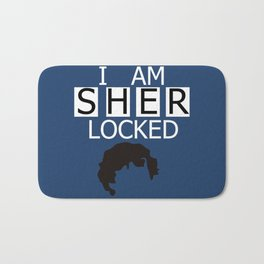 I am Sherlocked Bath Mat