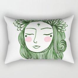Miss Aster Rectangular Pillow