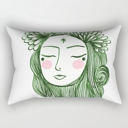 Miss Aster Rectangular Pillow