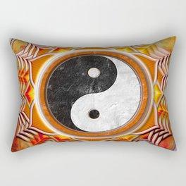 Yin Yang - Healing Of The Orange Chakra Rectangular Pillow