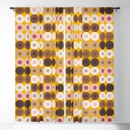 Breast Wishes (mustard) Blackout Curtain