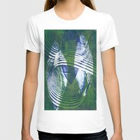 wave T-shirts featuring Wave by Sandra Hedicke Clark