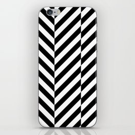 Black and White Op Art Design iPhone Skin