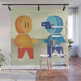 Plug and Socket Wall Mural