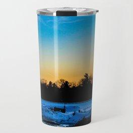 Sunset Barn Travel Mug