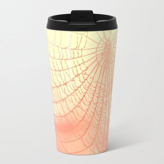 Ethereal Web Metal Travel Mug