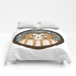 Northern Saw-whet Owl Comforters