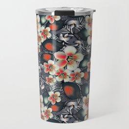 exotic floral Travel Mug