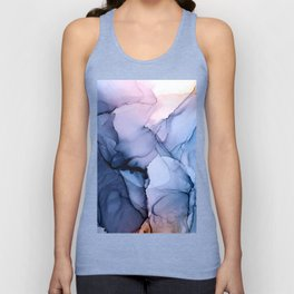 Captivating 1 - Alcohol Ink Painting Unisex Tank Top