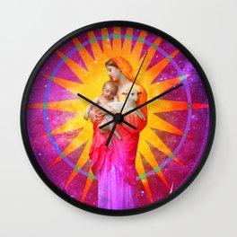 Sunburst L'Innocence Wall Clock