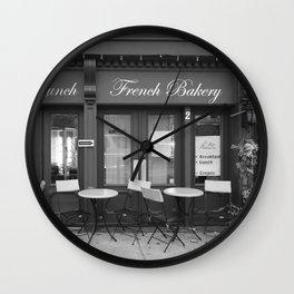 French Bakery Wall Clock