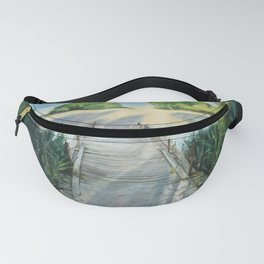 Bridge To Beach Fanny Pack