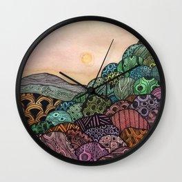 full moon Wall Clock