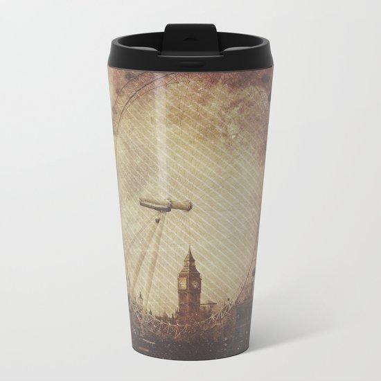 Big Ben in the Eye of London Metal Travel Mug