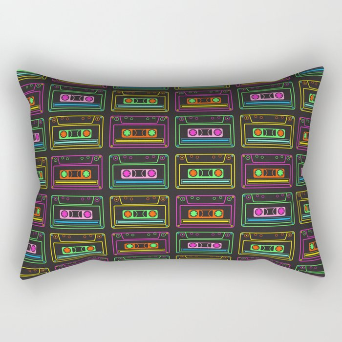 Neon Mix Volume 1 Rectangular Pillow