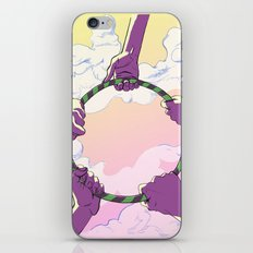 Hooping Hands iPhone & iPod Skin