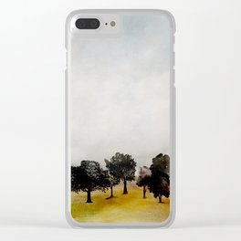 Group of Trees Clear iPhone Case