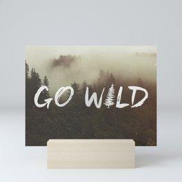 Go Wild Mini Art Print