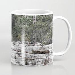 Rugged rocky bushland view Coffee Mug