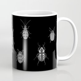 Beautiful Bugs Black Coffee Mug