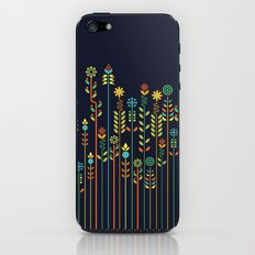 Overgrown flowers iPhone & iPod Skin