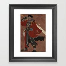 Auron Framed Art Print