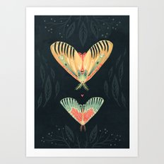 Moth Wings I Art Print
