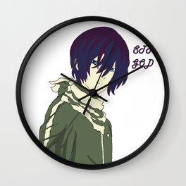 Street God Wall Clock
