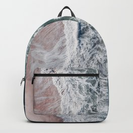 Crashing waves Backpack