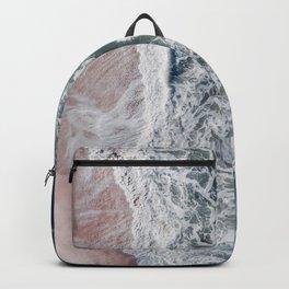 Crashing waves Backpack
