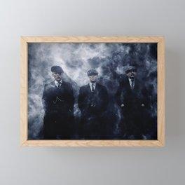 peaky blinders Framed Mini Art Print