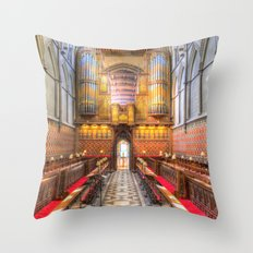 Rochester Cathedral Throw Pillow