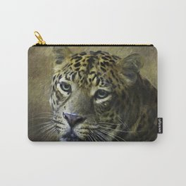 Leopard Painted Carry-All Pouch
